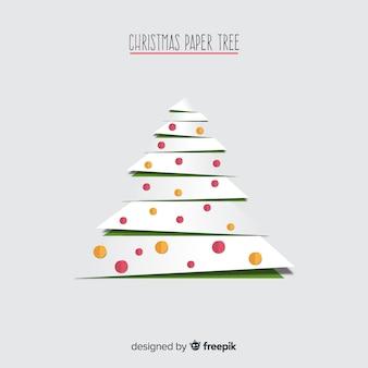 Kerst papier boom
