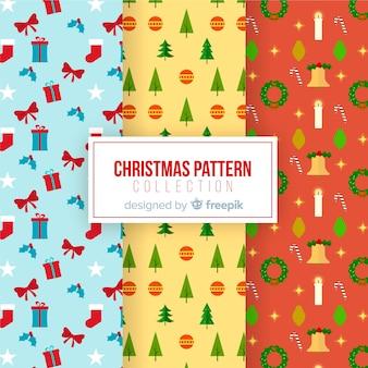 Kerst patroon collectie