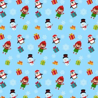 Kerst patroon