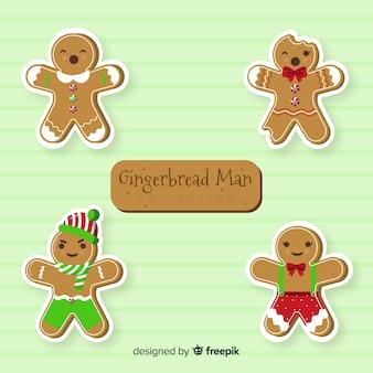 Kerst peperkoek cookie-collectie
