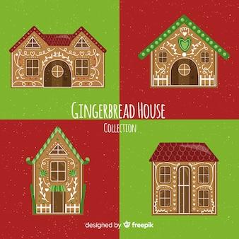 Kerst peperkoek huizen collectie