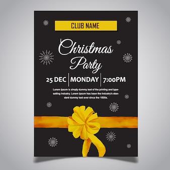 Kerst posters ontwerpen