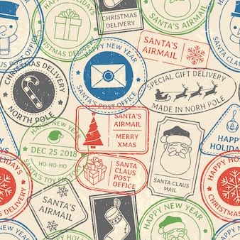 Kerst postpatroon