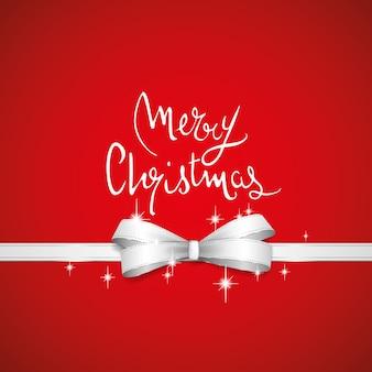 Kerst rode strik
