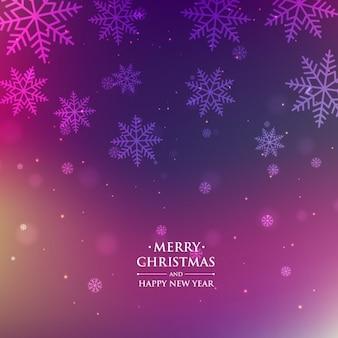 Kerst seizoen paarse achtergrond