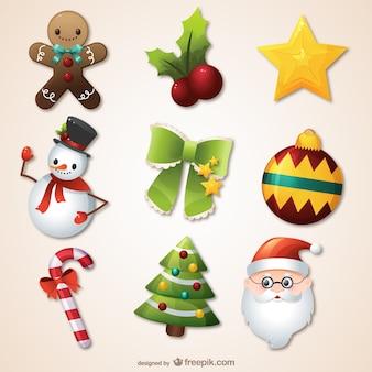 Kerst seizoen pak
