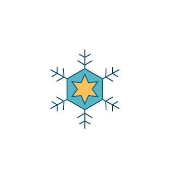 Kerst sneeuwvlok decoratie