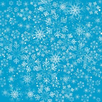 Kerst sneeuwvlokken achtergrond