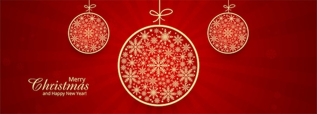 Kerst sneeuwvlokken decoratieve bal