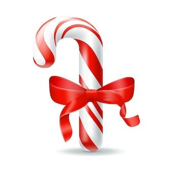 Kerst snoep illustratie geïsoleerd ontwerp