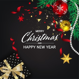 Kerst social media pomote, promotie post-sjablonen. post vierkant frame voor sociale media