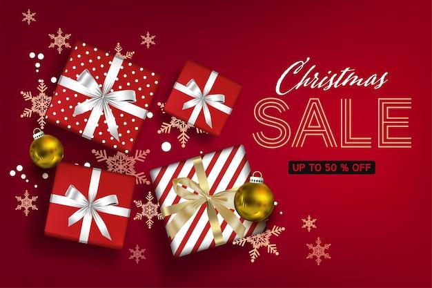 Kerst sociale media promoten, promotie post-sjablonen. post vierkant frame voor sociale media