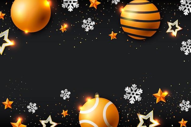 Kerst sprankelende achtergrond