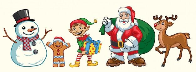 Kerst tekenset