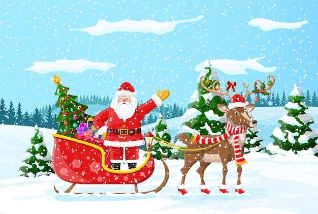 Kerst thema achtergrond