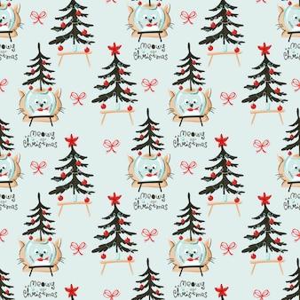 Kerst thema naadloze patroon