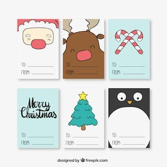 Kerst tickets collectie