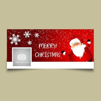 Kerst tijdlijn cover ontwerp