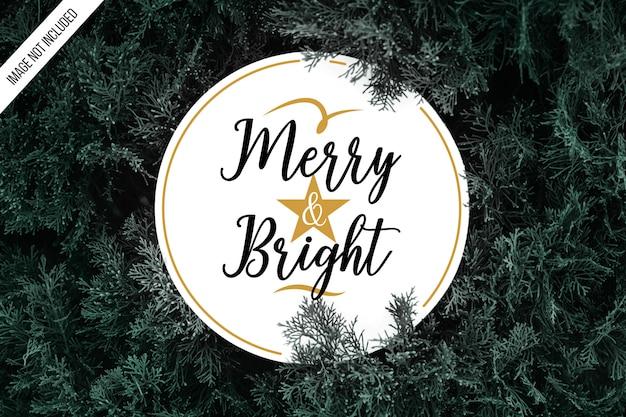 Kerst typogaphy achtergrond