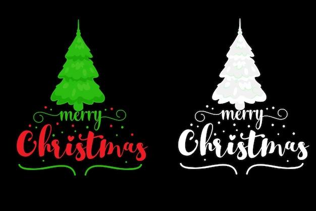 Kerst typografie tshirt ontwerp kerst vector typografie tshirt ontwerp
