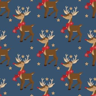 Kerst vakantie seizoen naadloze patroon