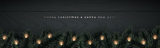 Kerst vector banner