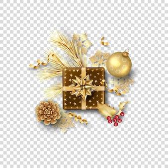 Kerst vector feestelijk ornament