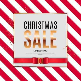 Kerst verkoop achtergrond sjabloon.