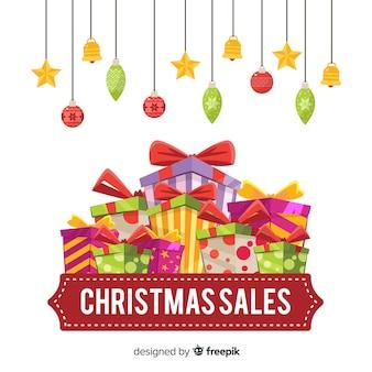 Kerst verkoop banner