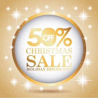 Kerst verkoop ontwerp