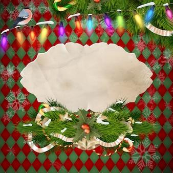 Kerst versiering.