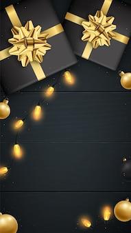 Kerst verticale banner