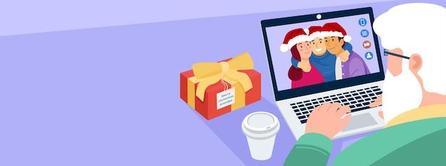 Kerst virtuele bijeenkomst