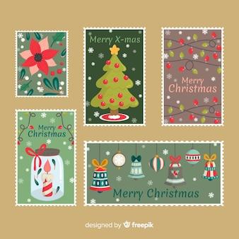 Kerst wenskaart collectie