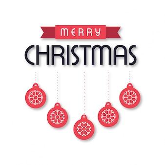 Kerst wenskaart of posterontwerp