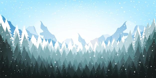 Kerstaffiche achtergrond