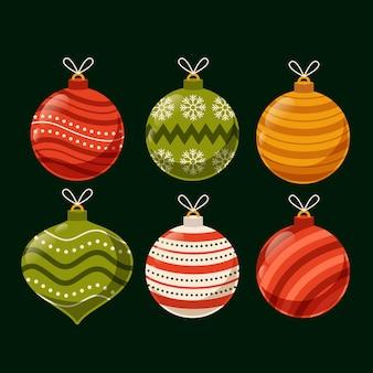 Kerstbal ornamenten