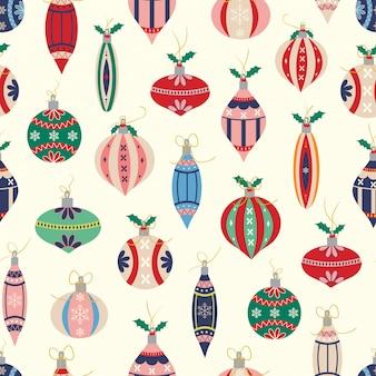 Kerstballen patroon
