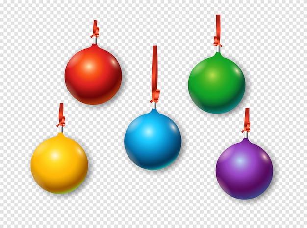 Kerstballen set.