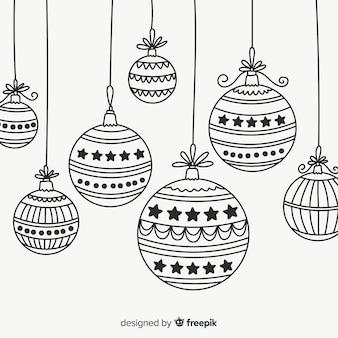 Kerstballen verzamelen