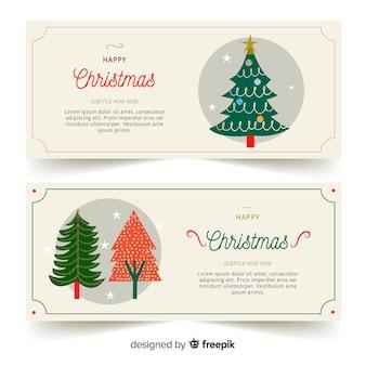 Kerstbanners