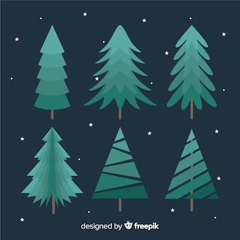 Kerstbomen collectie