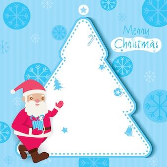 Kerstboom blauw