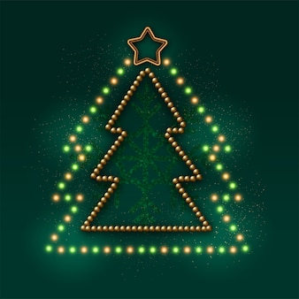 Kerstboom decoratie en garland