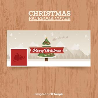 Kerstboom facebook omslag