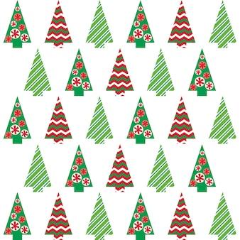 Kerstboom patroon