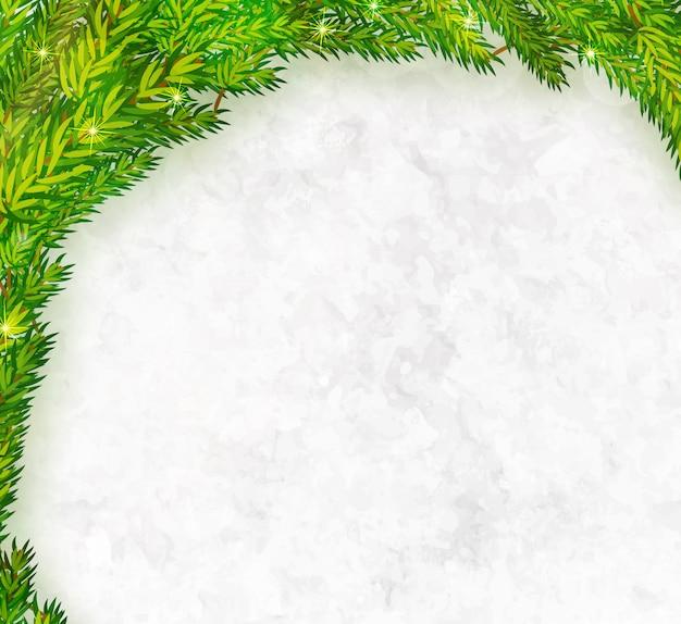 Kerstboom takken frame