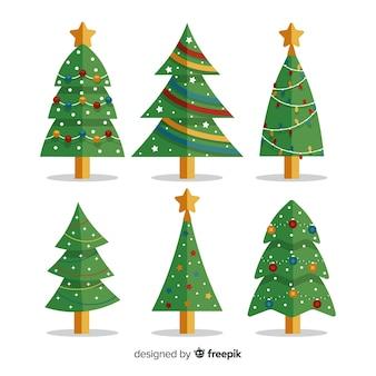 Kerstboominzameling