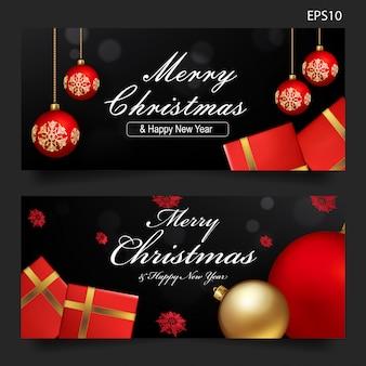 Kerstcadeau voucher sjabloon