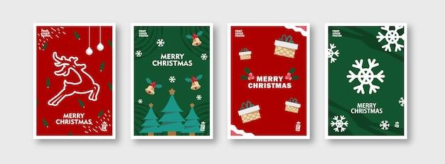 Kerstdag backround sneeuwpop en kerst objecten vector illustratie